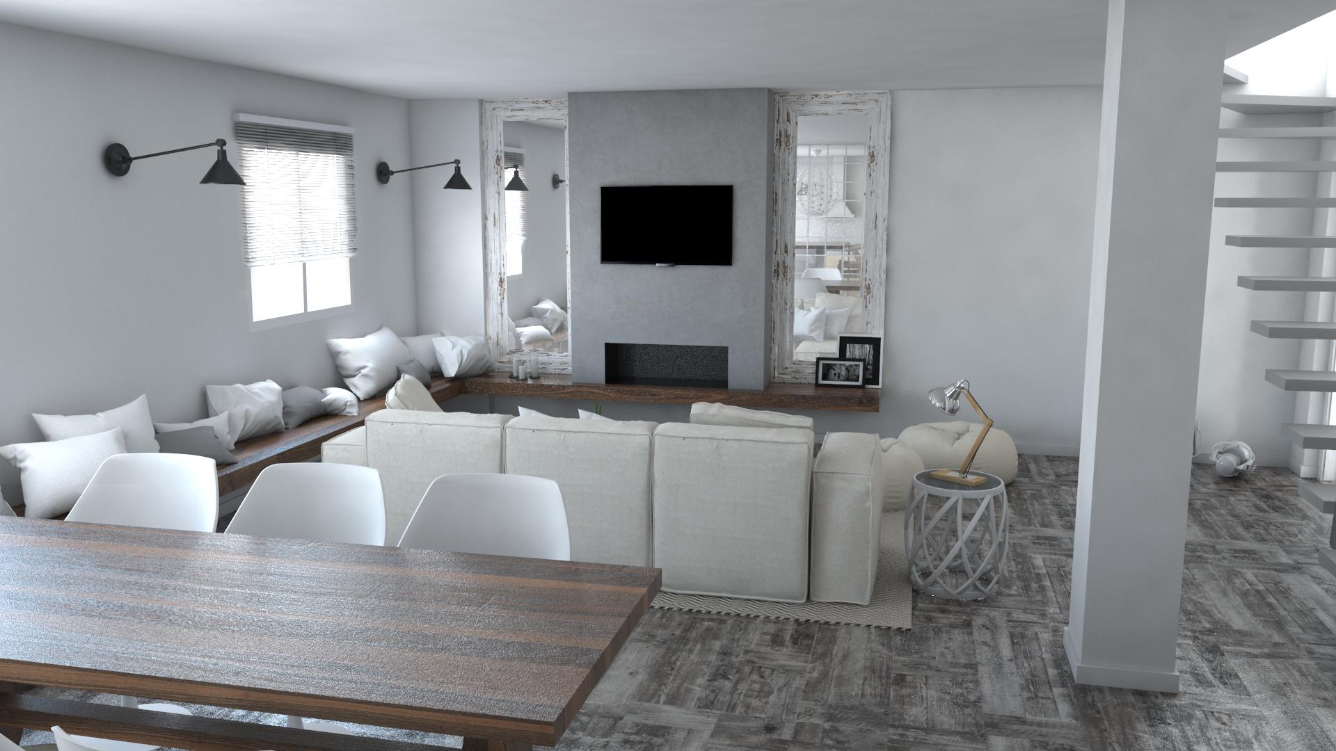 Proyecto de interiorismo y creaci n de mobiliario en una - Cocobolo granada ...