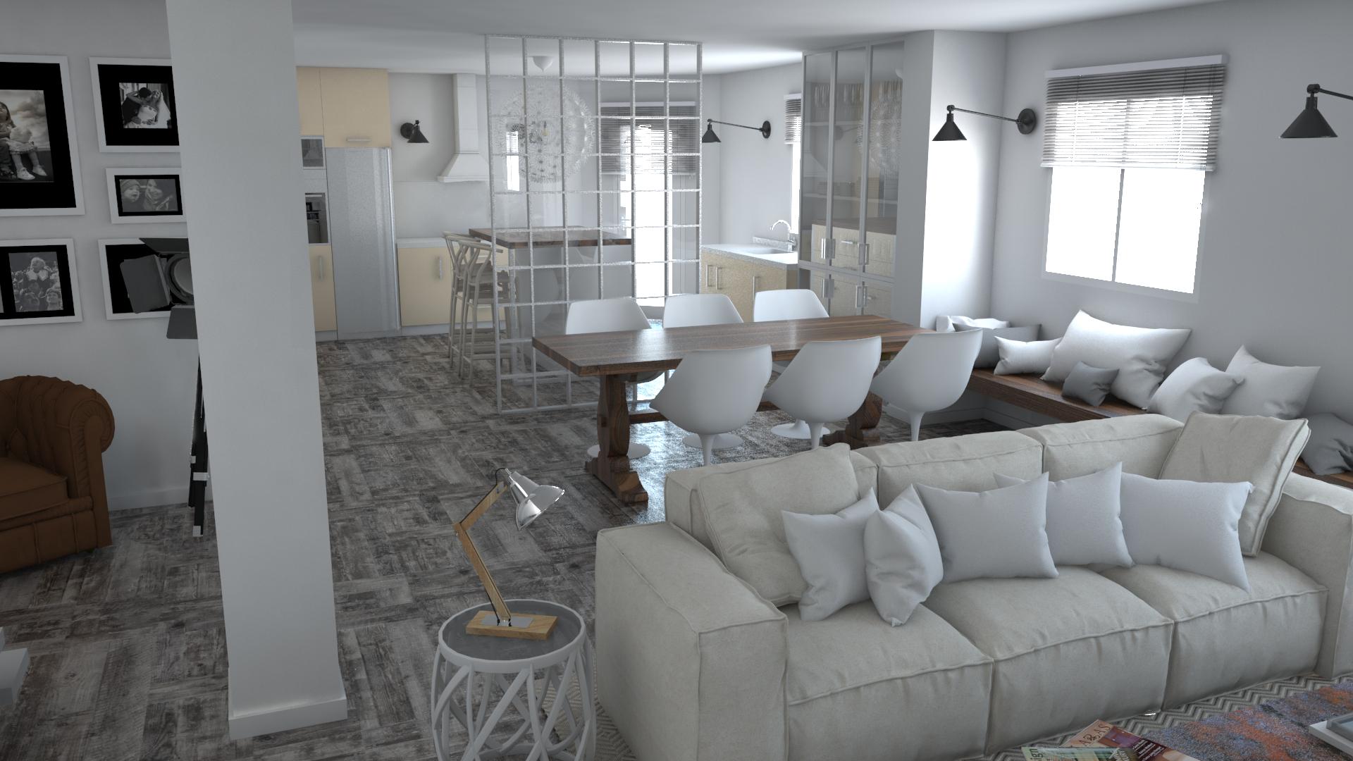 Proyecto de interiorismo y creaci n de mobiliario en una - Interiorismo granada ...