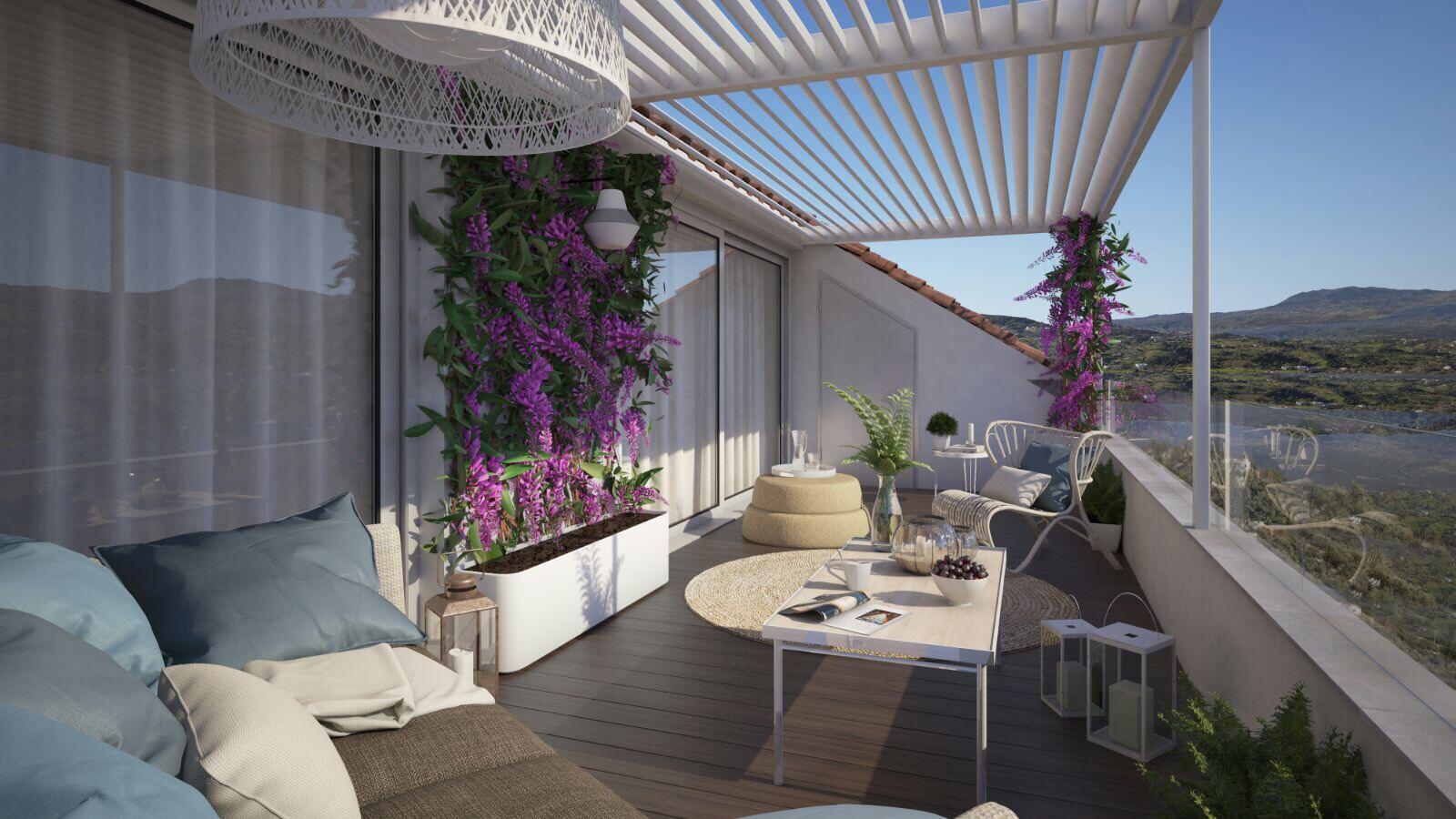 Reforma Y Diseño De Terraza De Un ático En Baza Cocobolo