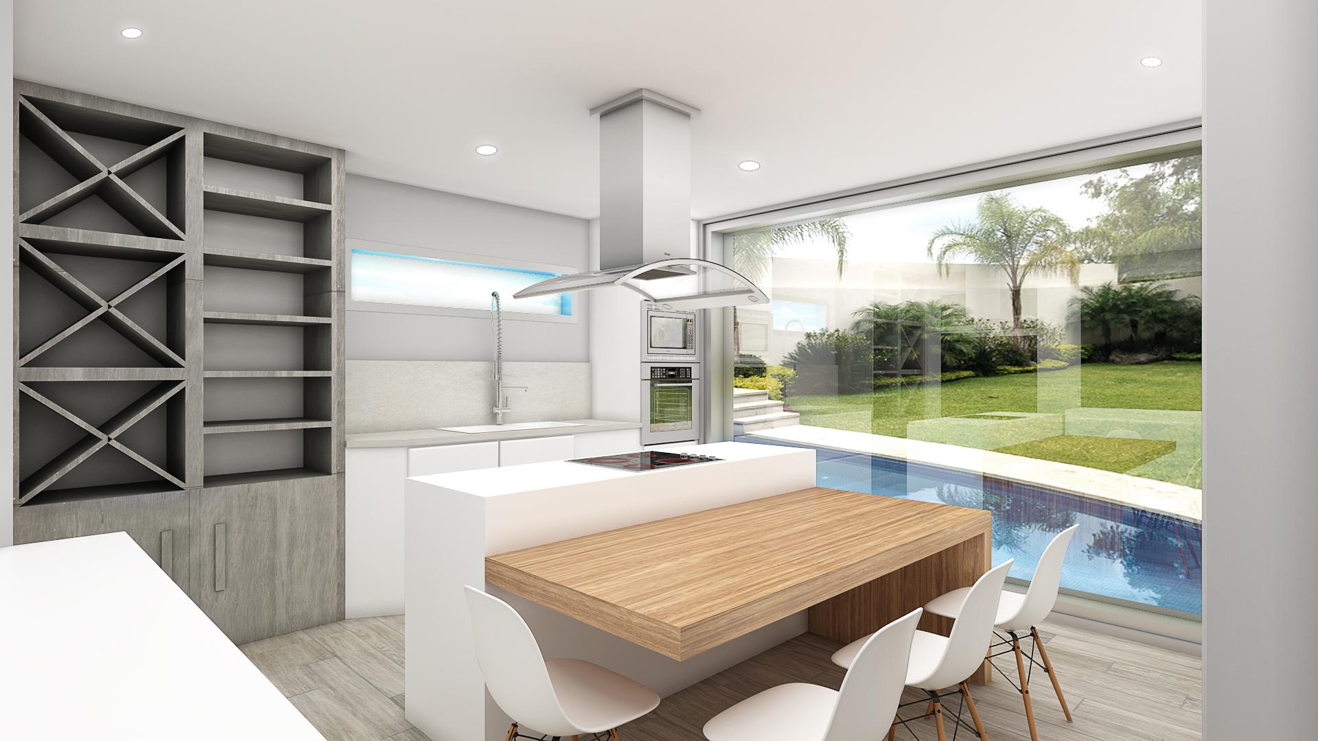 Proyecto de interiorismo y creaci n de mobiliario en for Vivienda interior