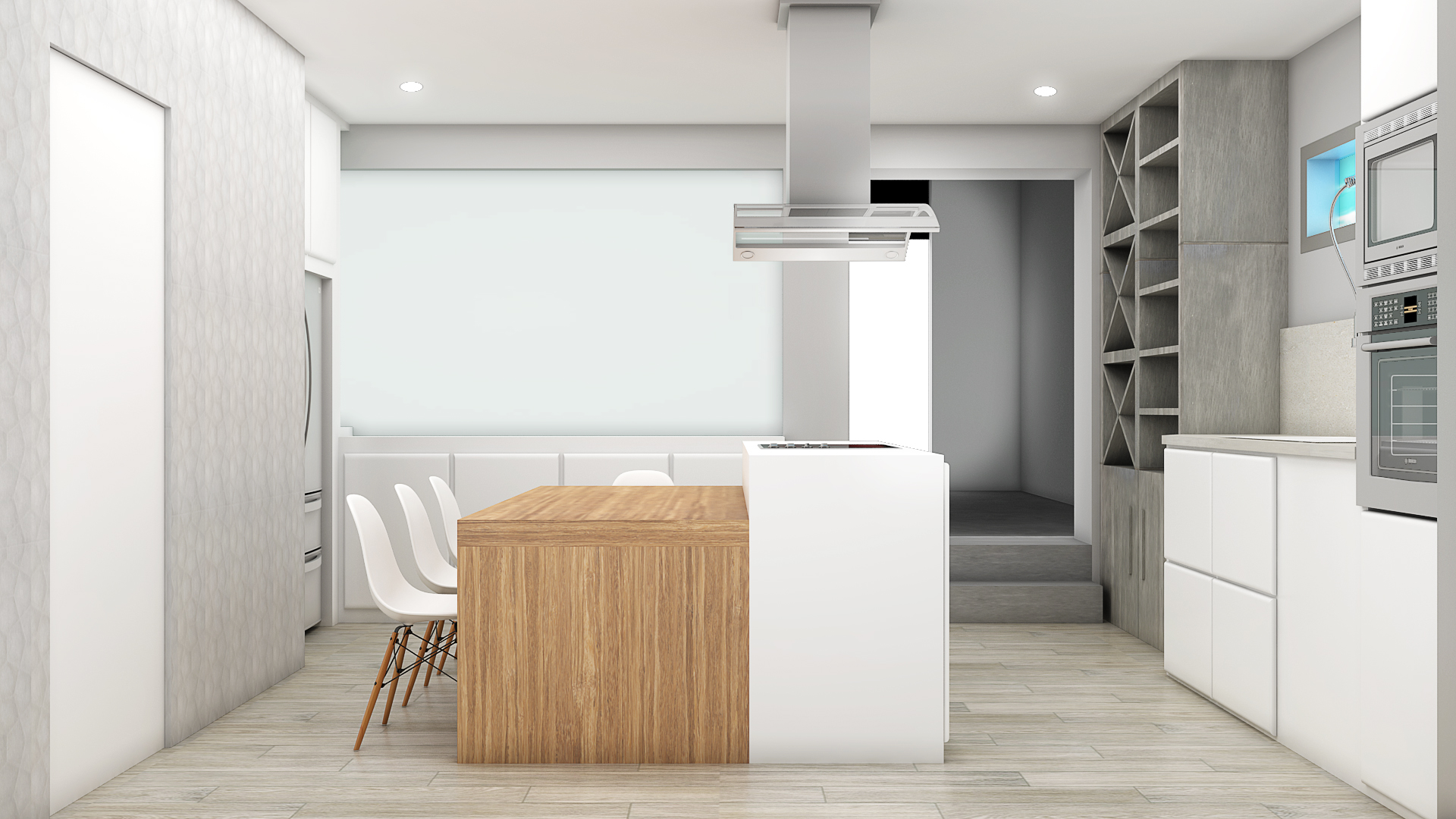 Proyecto de interiorismo y creaci n de mobiliario en for Cocina de creacion